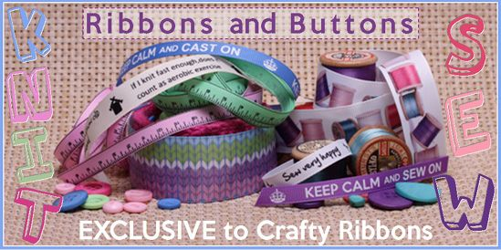 knit and sew ribbons