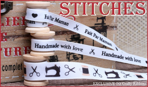 stitches ribbon