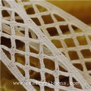 Chantilly Cotton Lace - Trellis