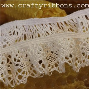 Chantilly Cotton Lace - Linda Elastic