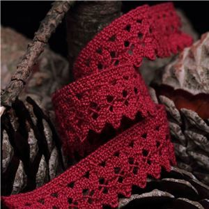 Clermont Cotton Lace - Scarlet