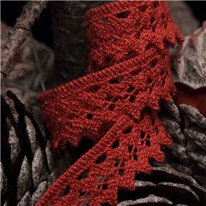 Clermont Cotton Lace - Rust