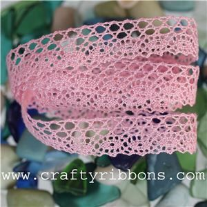 Morlaix Cotton Lace - Rose Candy
