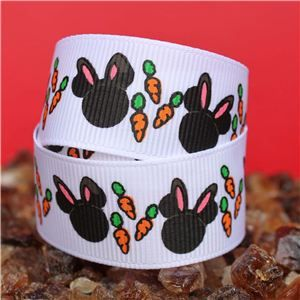 Mouse Head  Ribbon - Easter Carrots