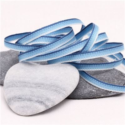 3mm Ombre Ribbon - Blue