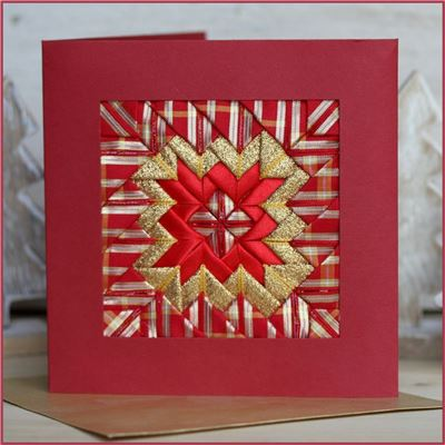 Tartan Ribbon - Somerset Card
