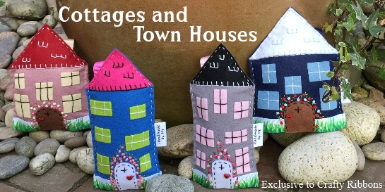 felt cottage and town hoses