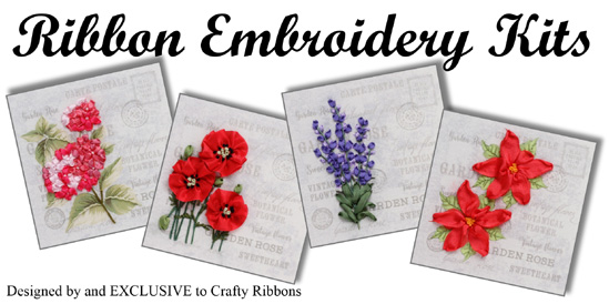 ribbon embroidery kits
