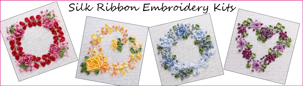 silk ribbon embroidery kits