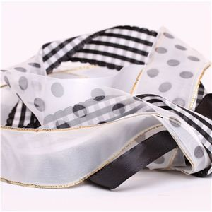 Ribbon Pack - Black and White