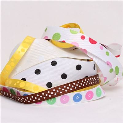 Ribbon Pack - Buttons and Dots