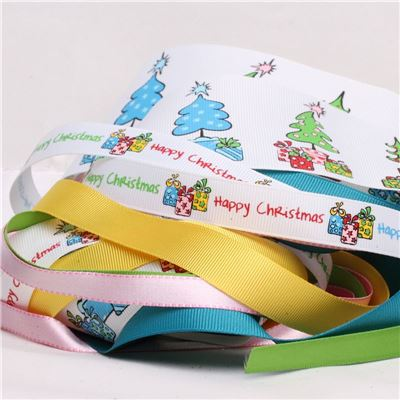 Ribbon Pack - Funky Christmas