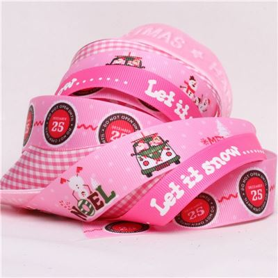 Ribbon Pack - Pink Christmas