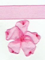 10mm Sheer Ribbon - Pink