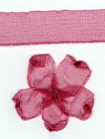 10mm Sheer Ribbon -  Dusky Pink