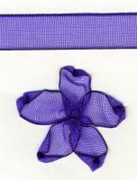 10mm Sheer Ribbon - Purple