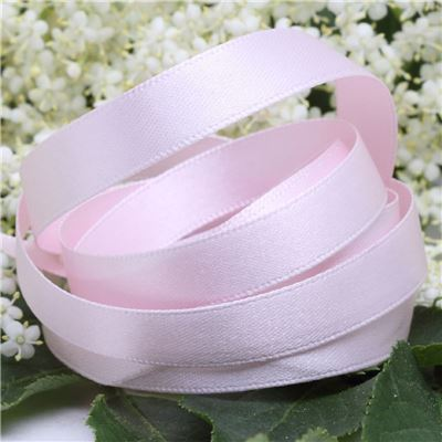 10mm Satin Ribbon - Pale Pink