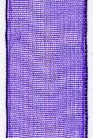15mm Sheer Ribbon - Purple