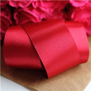 35mm Satin Ribbon - Cardinal
