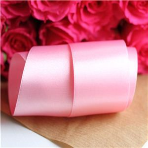 35mm Satin Ribbon - Dark Rose