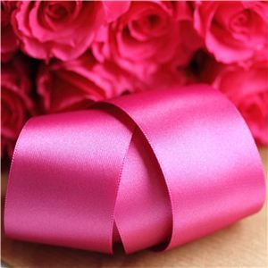 35mm Satin Ribbon - Fuchsia