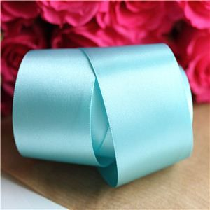 35mm Satin Ribbon - New Turq