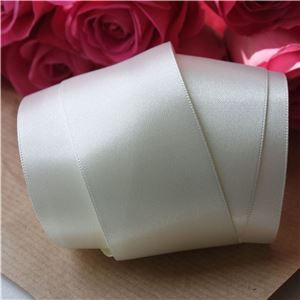 35mm Satin Ribbon - Bridal White