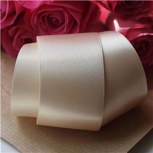 35mm Satin Ribbon - Cream