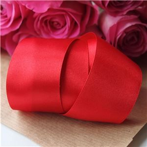 35mm Satin Ribbon - Red