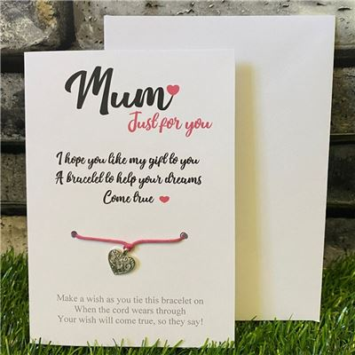 Wish Bracelet - Mum or Mummy
