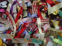 Scrap Bags of Ribbon