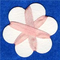 4mm Silk Ribbon - Petal Peach