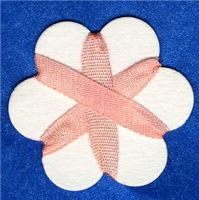 4mm Silk Ribbon - Apricot Wash