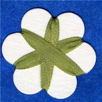 4mm Silk Ribbon - Khaki