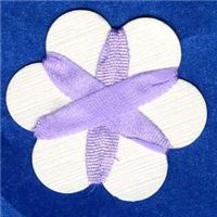 4mm Silk Ribbon - French Lilac