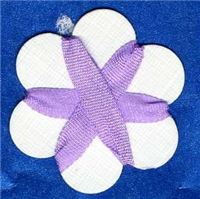 4mm Silk Ribbon - Light Purple