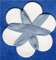 4mm Silk Ribbon - Periwinkle