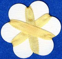 4mm Silk Ribbon - Pale Yellow