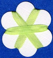 4mm Silk Ribbon - Light Green