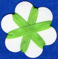 4mm Silk Ribbon - Bright Green