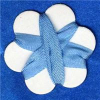 7mm Silk Ribbon - Bluebell