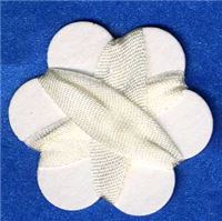 7mm Silk Ribbon - Bridal White
