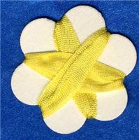 7mm Silk Ribbon - Dandelion
