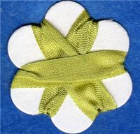 7mm Silk Ribbon - Spring Green