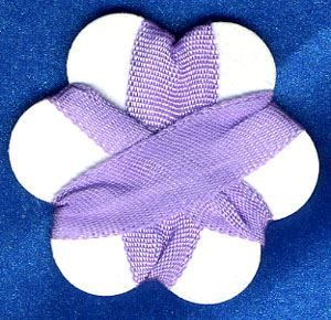 7mm Silk Ribbon - Lt Purple