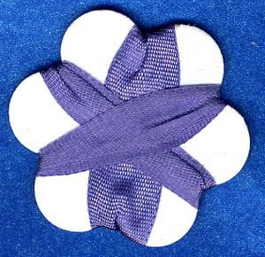 7mm Silk Ribbon - Wisteria