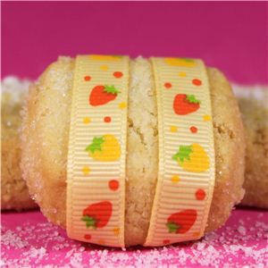 Strawberry Shortcake Ribbon - Mini Lemon