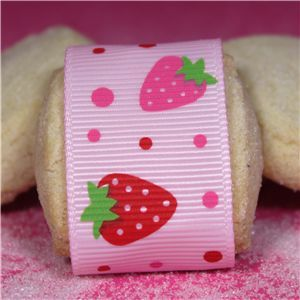 Strawberry Shortcake Ribbon - Pink