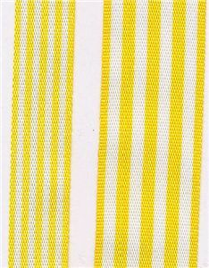Fresh Stripe Ribbon - Yellow