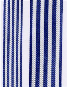 Fresh Stripe Ribbon - Royal